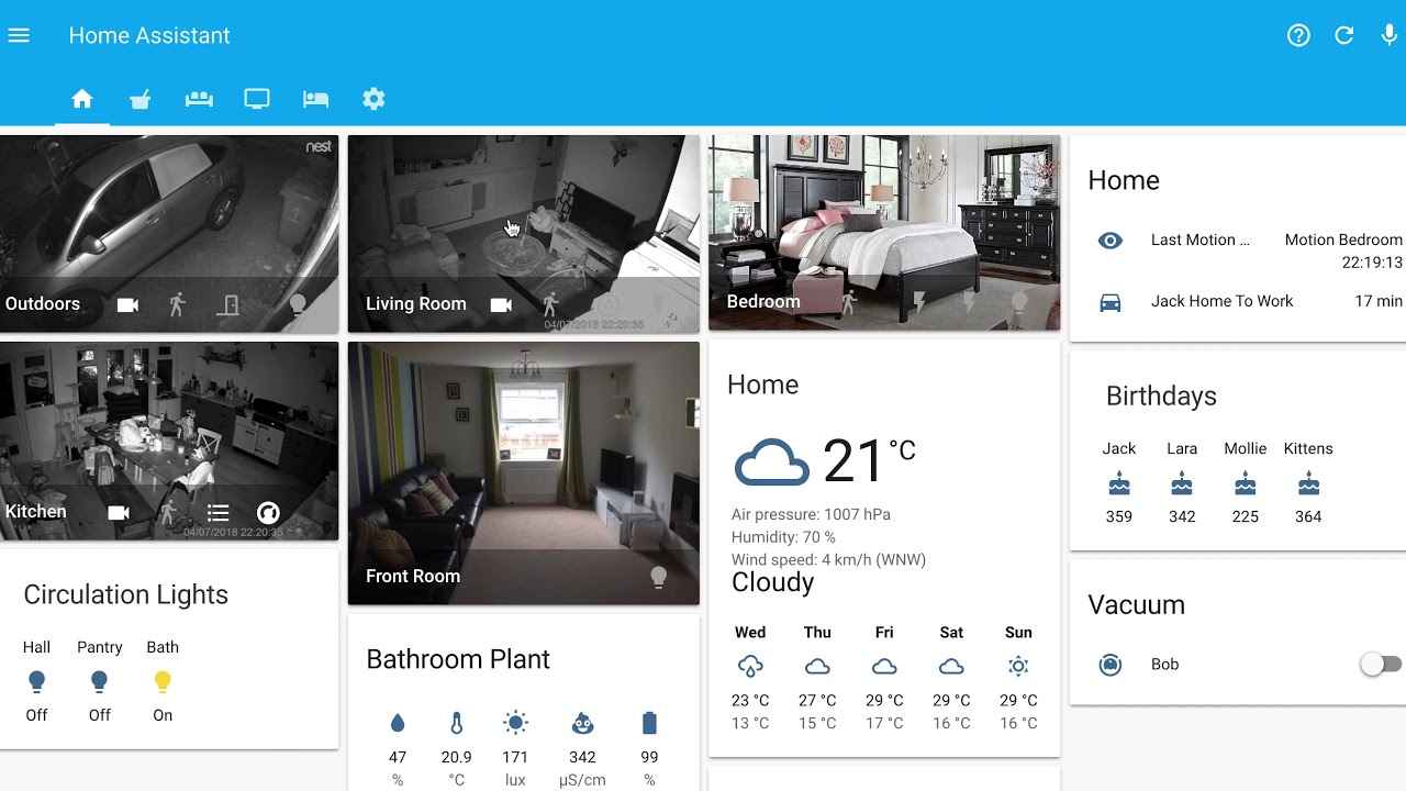 Home assistant - lovelace ui example