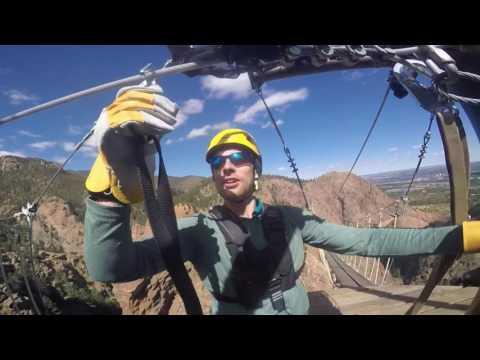 Colorado Springs Zip Line over Seven Falls