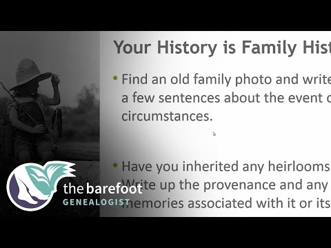 Your History Is Family History