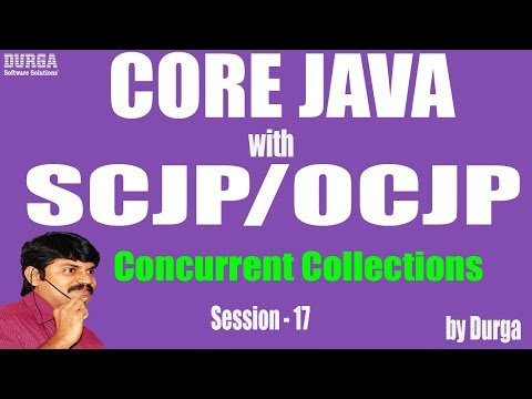 CoreJavaWithOCJP/SCJP:Concurrent Collections Part-17||CopyOnWriteArrayList,synchronizedList(),Vector