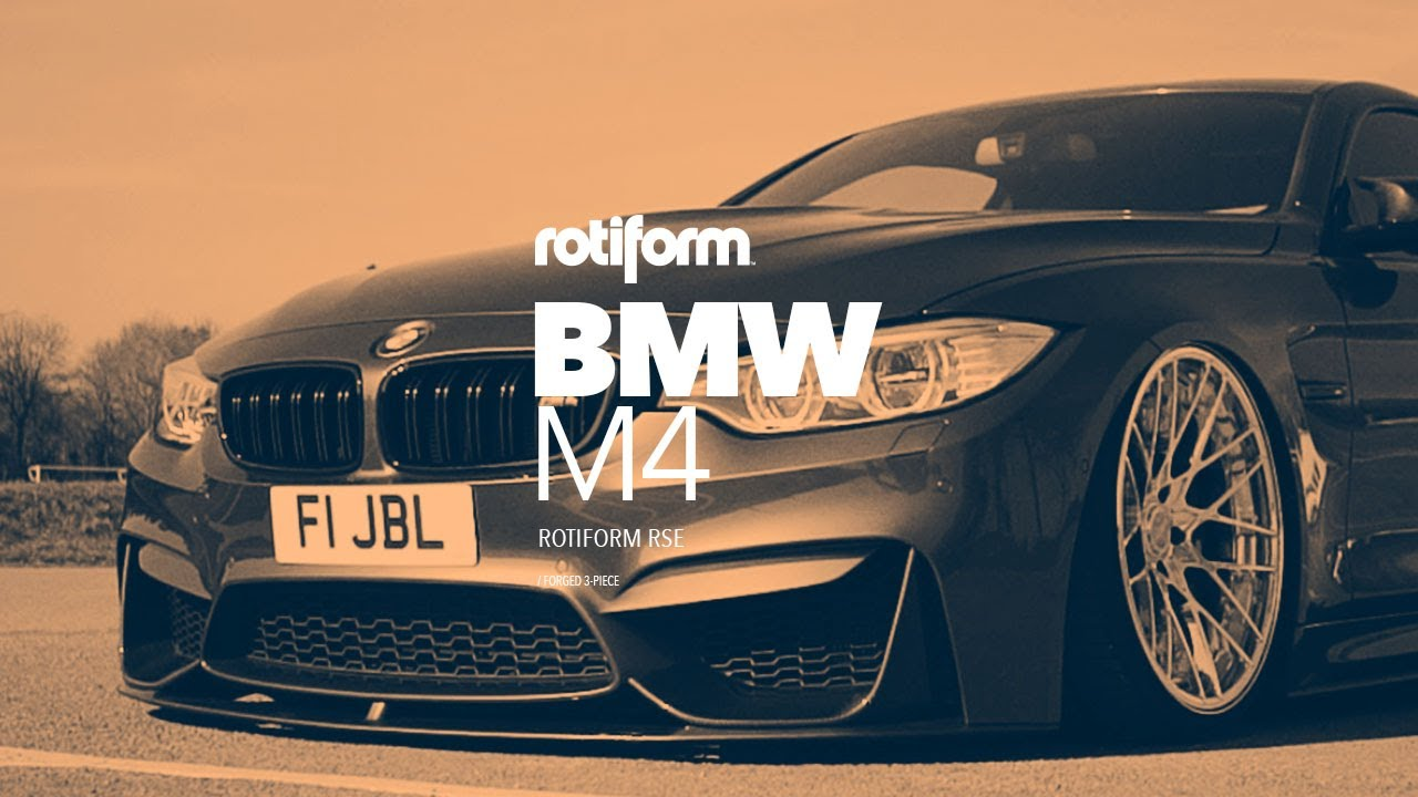 Bmw M4 Rotiform Rse Youtube
