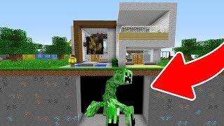 - EVMN ALTINDA DEV MUTANT CREEPER BULDUM  Minecraft