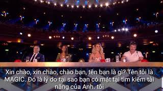 Britain's got talent 2018 ( Việt Sub ) Ảo Thuật Với Rubic