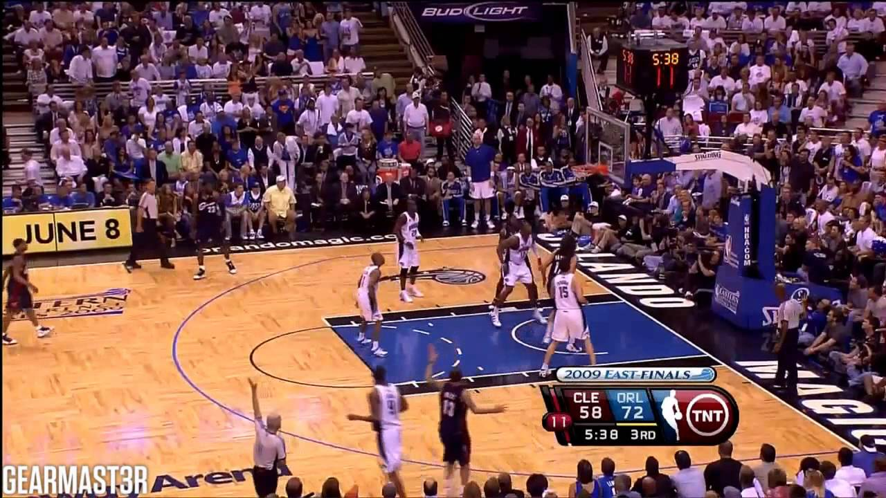 2009 ECF - Cleveland vs Orlando - Game 6 Best Plays - YouTube