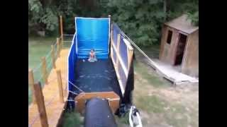 Extreme Redneck Backyard Waterslide!!!!