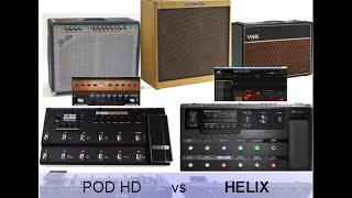 line 6 pod hd vs helix fender twin f bassman vox ac30 tb