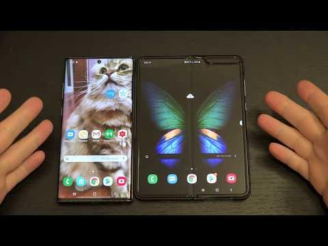 Samsung Galaxy Fold vs Note 10+