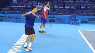 Tennis Quick Tip - Contact Point