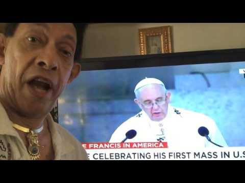 Pope Francis & Psychosis of Zombie Jesus Blood Drinking Faith 092415