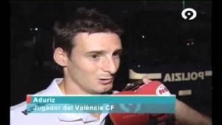 Resumen Lecce 0 - Valencia CF 2 (  Aduriz, Manuel Fernandes)