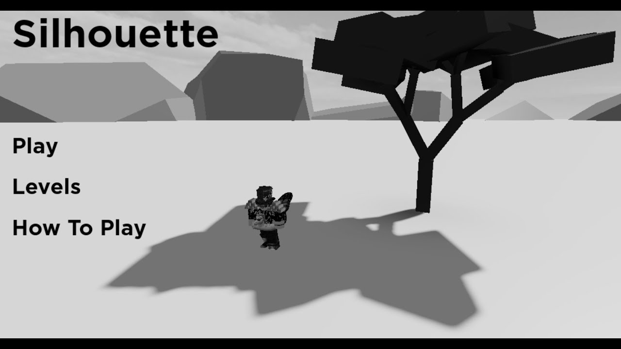Silhouette Gameplay Playing With Dylanthehyper11101 Roblox Youtube