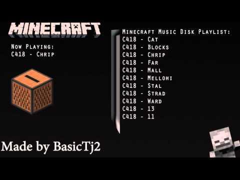 C418's Minecraft Music Disc Playlist