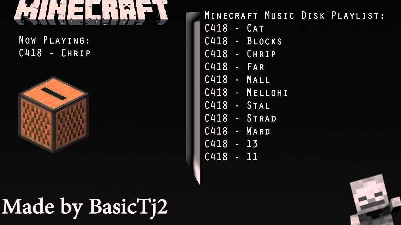 C418's Minecraft Music Disc Playlist