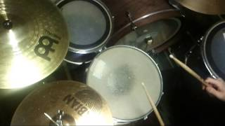 Yes - Five Per Cent For Nothing - drum cover & tutorial