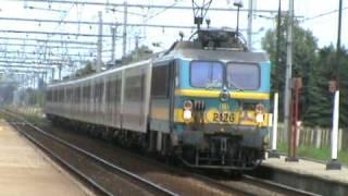 HLE 2126 komt aan in Schellebelle