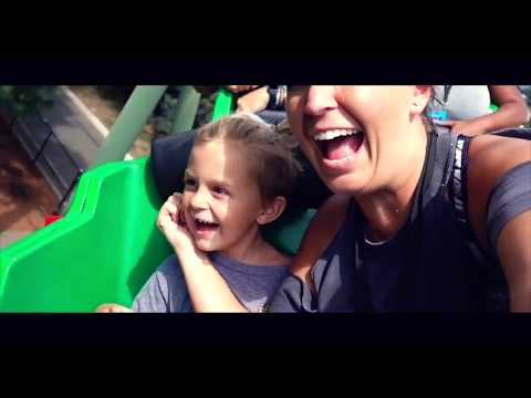 5 YEAR OLD BRAVES TERRIFYING GIANT ROLLERCOASTER!! At LegoLand