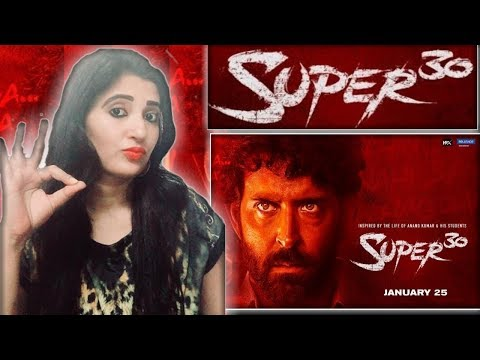 REACTION ON  Super 30 | Official Trailer | Hrithik Roshan//REACTION BY RICHIE RICH