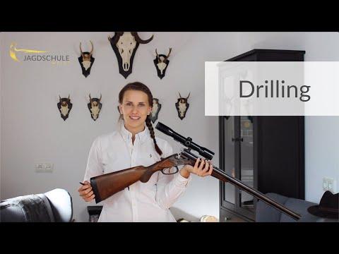 Waffenhandhabung Drilling - Jagdschule Weiss - Jagdschein - Jägerprüfung Niedersachsen