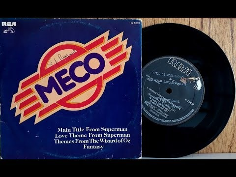 Meco - Main Title From Superman - (Compacto Duplo Completo - 1978) - Baú Musical