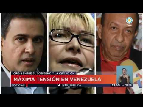 Máxima tensión en Venezuela || Television Publica Noticias Internacional