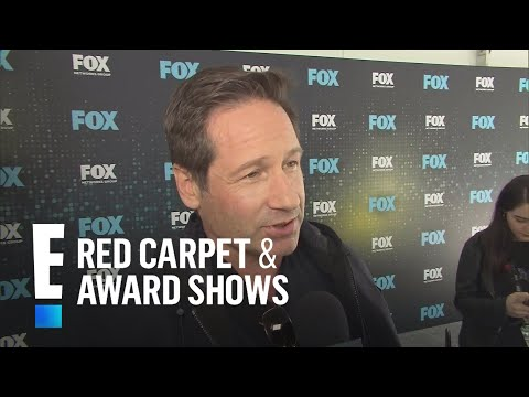 "David Duchovny & Gillian Anderson on ""X-Files"" Revival 