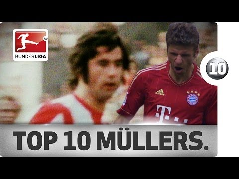 Top 10 Goals - The Müllers
