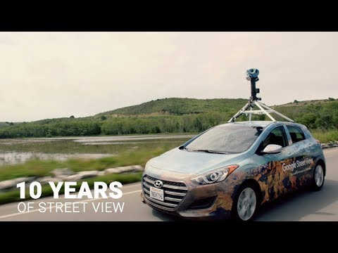 Google Street View Just Turned 10. Check Out Our New Ride.