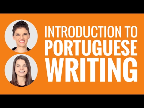 Introduction to Portuguese Writing