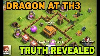 😱TOWNHALL 3 UNLOCKED DRAGON AND PEKKA | TOWNHALL 9 UNLOCKED BOWLER | HOW POSSIBLE ???