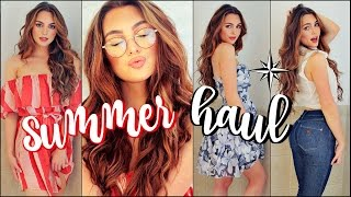 HUGE Spring/Summer TRY-ON Haul 2017 | Dresses, Crop Tops & Skirts!