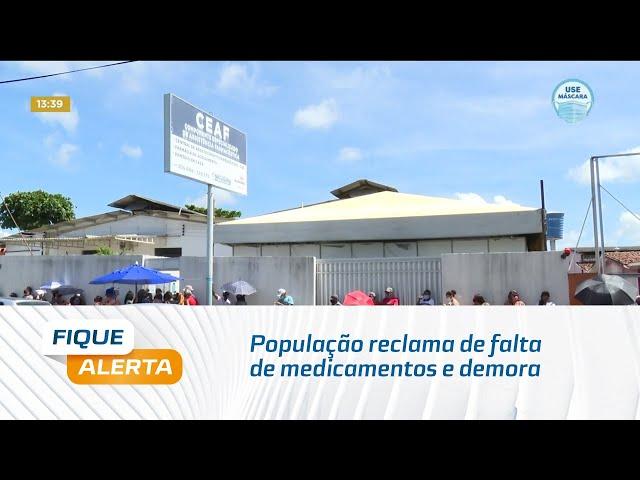 População reclama de falta de medicamentos e demora no atendimento na antiga Farmex