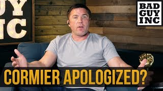 I do NOT accept Daniel Cormier's apology...