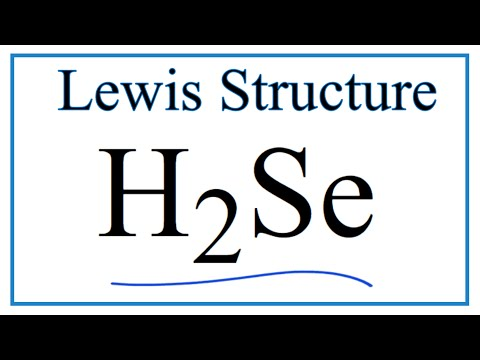 Lewis Dot Diagram For H2o 3 Pole Contactor 120v Coil Wiring H2se Structure - How To Draw The Youtube