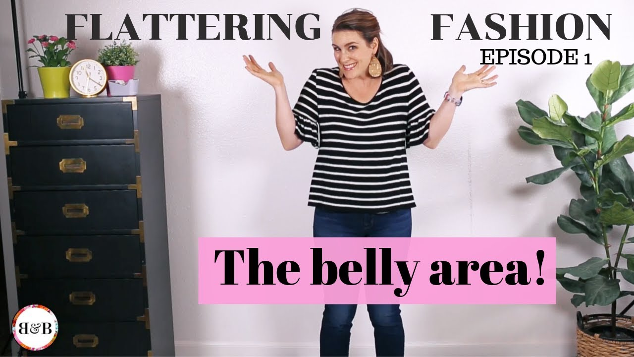Flattering Fashion Video The Belly Area Bonnie And Blithe
