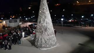 Albero di Natale al porto turistico