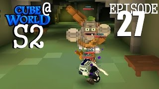 CubeWorld - S2E27 - Castle Wreck Double Feature - RPG Alpha Gameplay LP (Rogue)