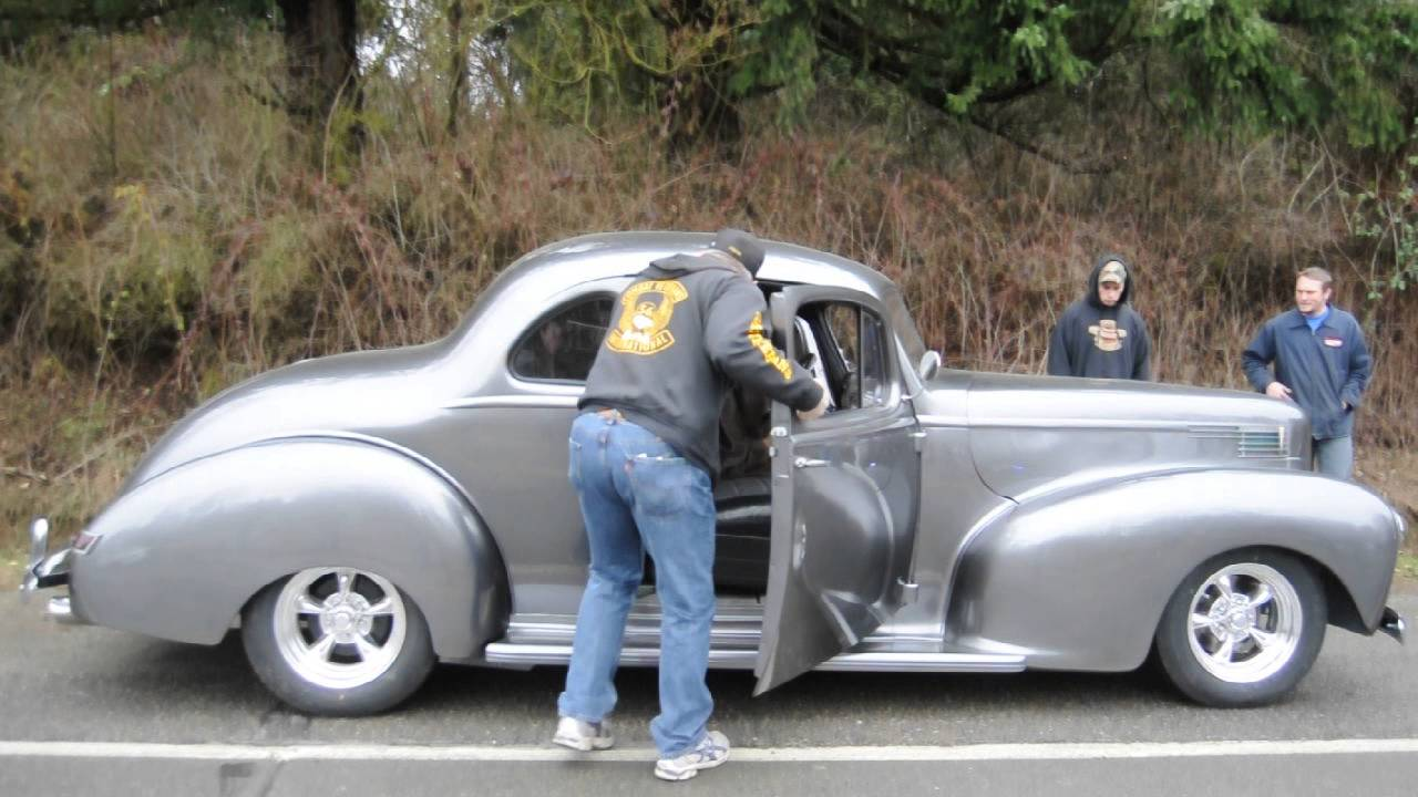1940 Hudson Business Coupe - YouTube