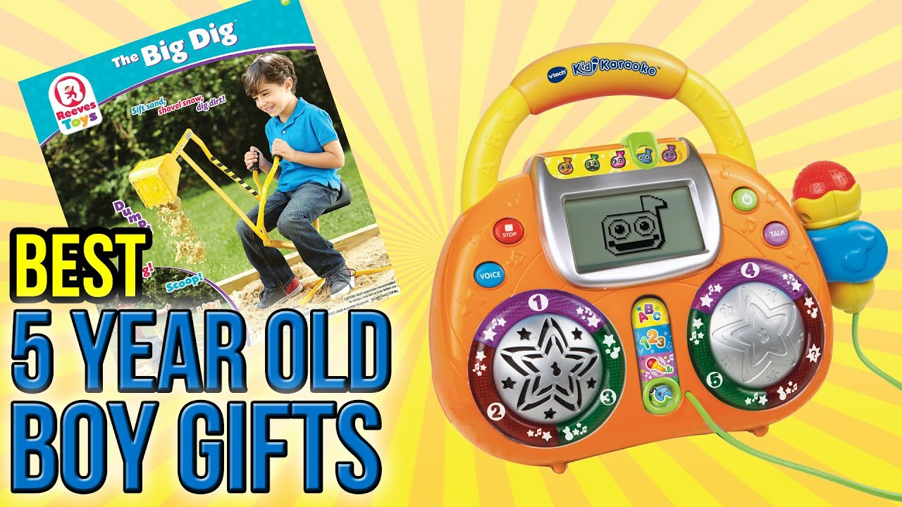 10 Best 5 Year Old Boy Gifts 2016