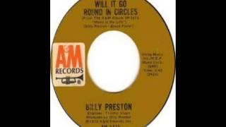 Billy Preston - Will It Go Round In Circles (1973)