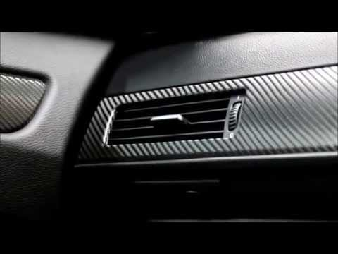 car interior trim wrap bmw e61 5 series interior carbon fibre wrap youtube. Black Bedroom Furniture Sets. Home Design Ideas