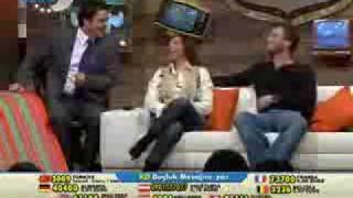 "Kivanc Tatlitug in "" Beyaz Show ""  2008  ( Part 1 )"