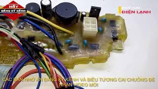 HƯỚNG DẪN SỬA MÁY GIẶT toshiba inverter DC950 ,DC 1000 -ĐIỆN LẠNH DUY HẢI