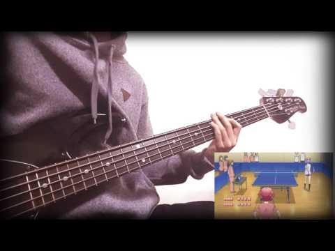 「Shakunetsu No Takkyuu Musume」OP/ TV SIZE [Bass Cover]