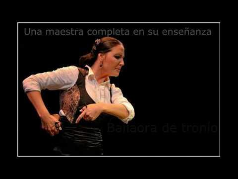Susana Casas en la Academia de flamenco Manuel Betanzos
