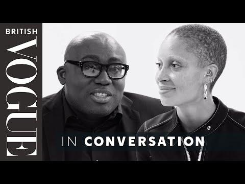 Edward Enninful Meets… Adwoa Aboah | The December 2017 Issue | British Vogue