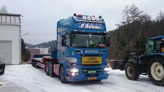 Gambar cover P. Adams  Heavy transport - Nadměrný náklad - Schwertransport  - part 1