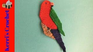 Crochet King Parrot Tutorial