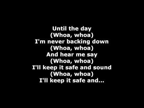 Kyosuke Himuro (ft. Gerard Way) - Safe and Sound Lyrics