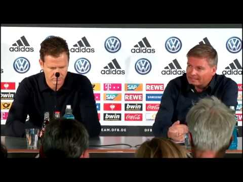 DFB Pressekonferenz mit Oliver Bierhoff, Manuel Neuer & Timo Werner 03.09.19