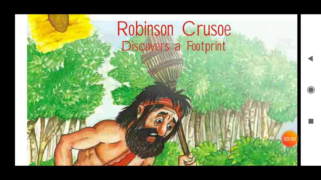 Robinson Crusoe Poem Class 5 English Chapter Ncert